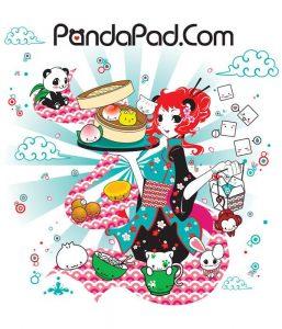 pandapad-characters